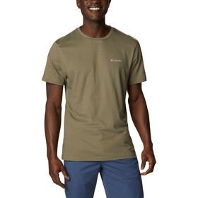 Columbia CSC Basic Logo koszulka Mężczyźni, stone green vertical